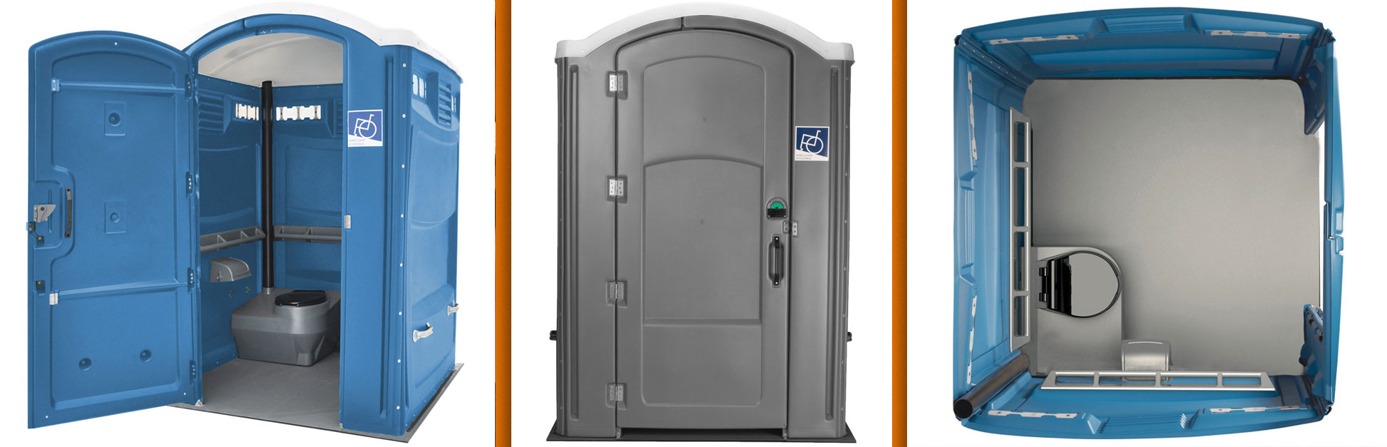 Non Ada Bathroom clean luxury portable restroom trailers | clean portable restrooms