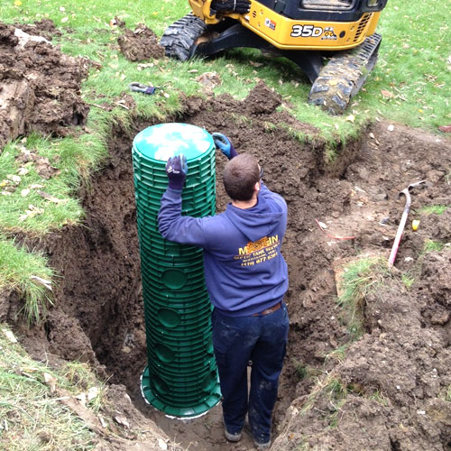 Water well service and septic system service Randy Mastin Septic Tank, Inc.