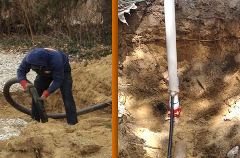 Septic system installation in Southern Michigan