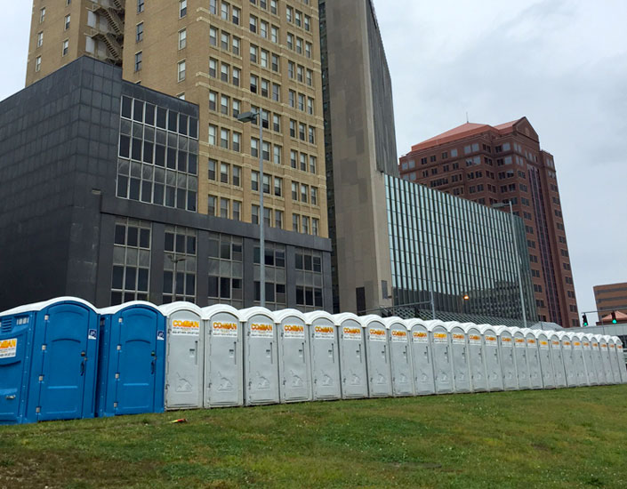 Porta-Johns available to rent for concerts, music festivals, wine tasting and more