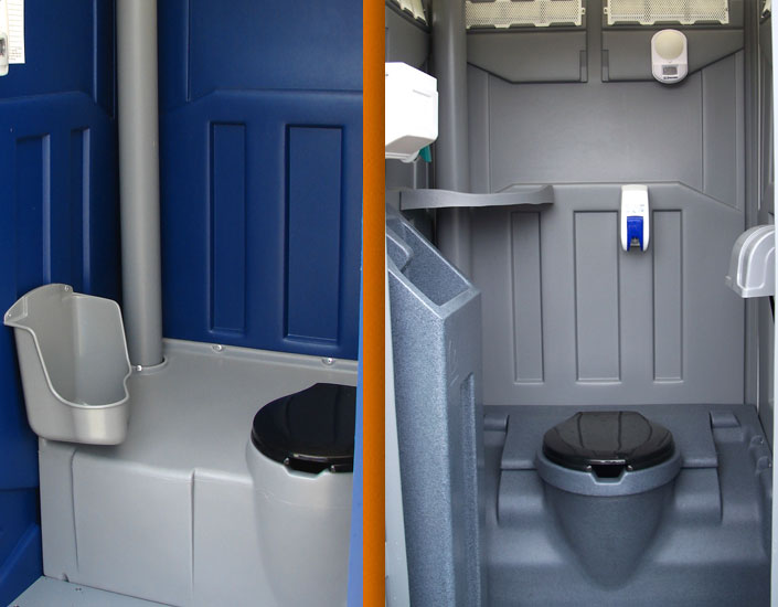 Portable Toilets With Running Water Sink Or Urinal