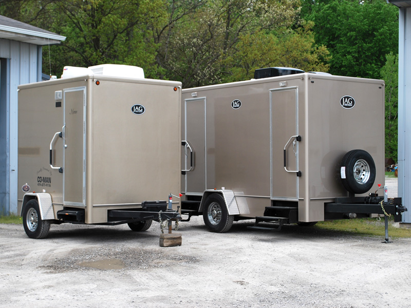 Choices to meet your needs. Portable Restroom Trailers   Deluxe VIP Toilet Trailers   Elegant