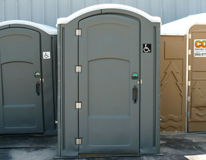 Non Ada Bathroom wheelchair accessible portable toilets | handicap portolet rentals