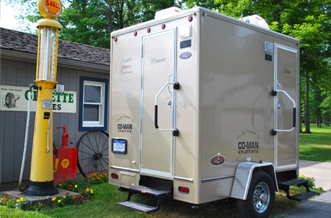 Clean Luxury Portable Restroom Trailers Clean Portable Restrooms - Bathroom trailer rentals